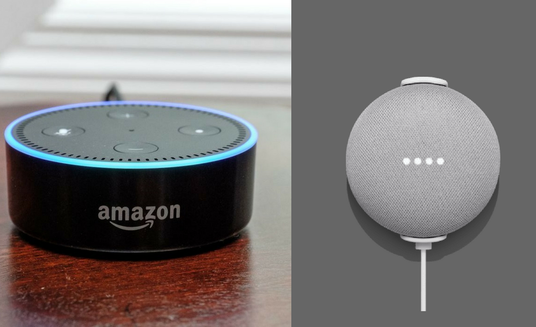 Comparison Between Google Mini Home and Alexa