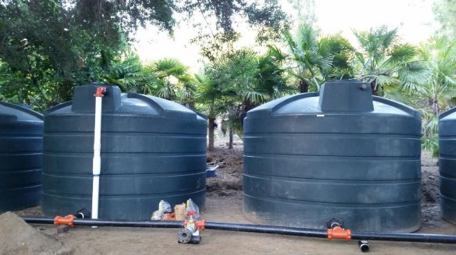 Can you place your water tank in direct sun?