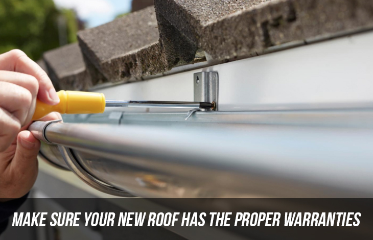 Make Sure Your New Roof Has The Proper Warranties