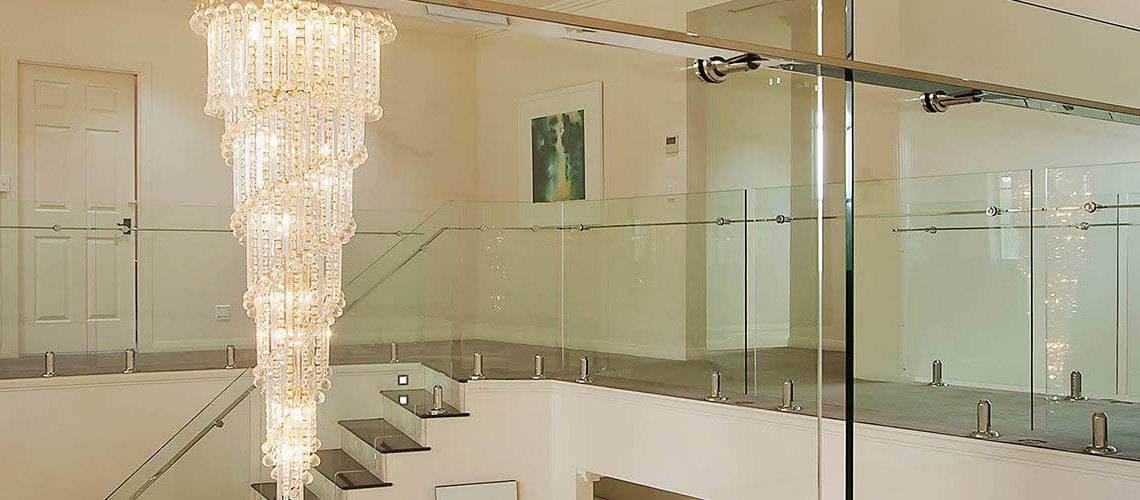 Using glass balustrades in your bathroom